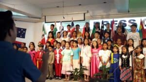 Picture of children reached by Paul Byers' ministry in the Philippines.